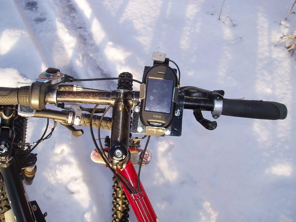 freerunner on the bike
