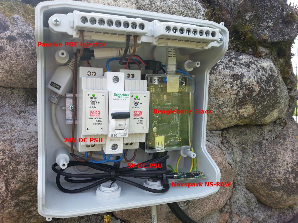 RTK GPS basestation controller